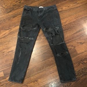 One teaspoon awesome baggies size 30 destructed